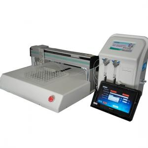 Dual-channel automated liquid dispensing system, pipetting workstations