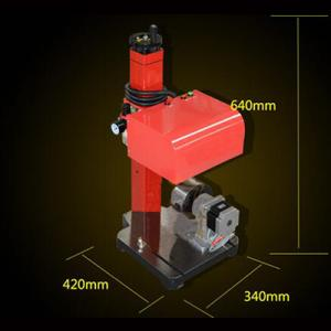 Pneumatic metal carving machine