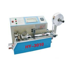 Desktop label cutting machine with hot and cold cutter